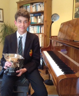 Image of Watford Piano winner.